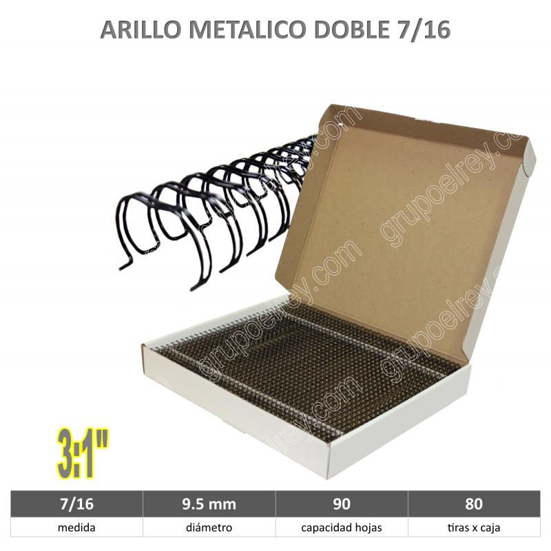 ARILLO METALICO 7/16