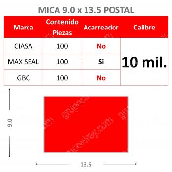 MICA TERMICA 9.0 x 13.5