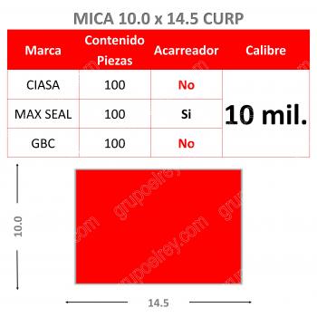 MICA TERMICA 10.0 x 14.5