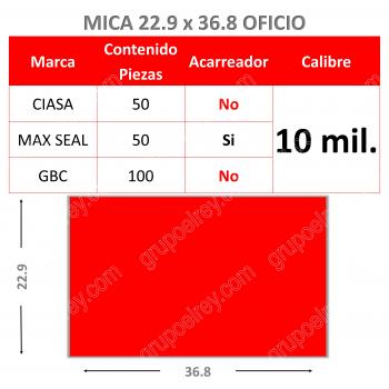 MICA TERMICA 22.9 xs 36.8