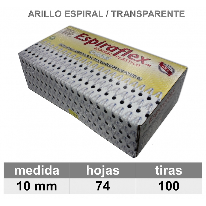 ESPIRAL CRISTAL 3/8