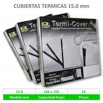 CUBIERTA TERMICA 15 mm