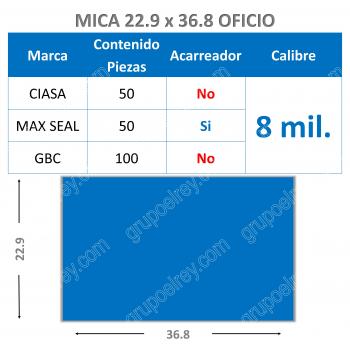 MICA TERMICA 22.9 x 36.8