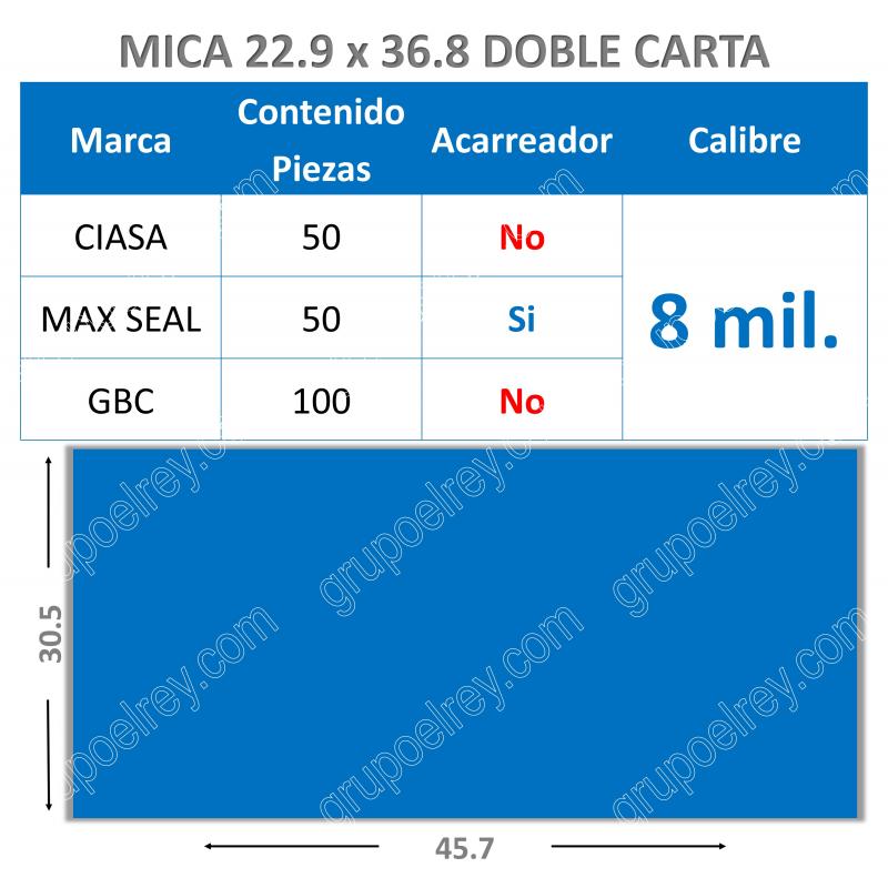 MICA TERMICA 30.5 x 45.7