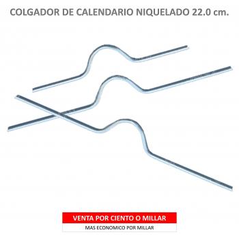 COLGADOR CALENDARIO NIQUELADO 22.5
