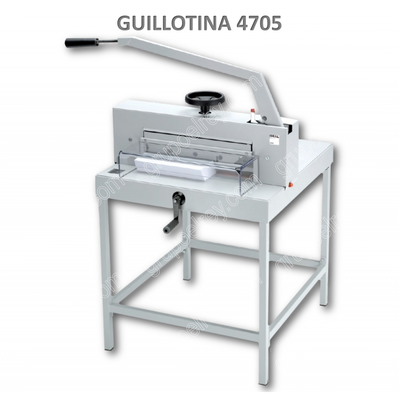 GUILLOTINA MANUAL 4705 DE IDEAL