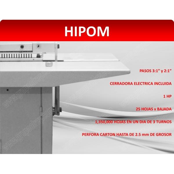 ENGARGOLADORA ELECTRICA HIPOM